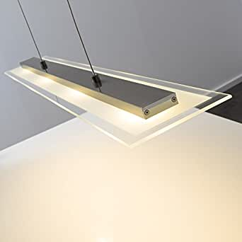 Suspension 4 led design luminaires et eclairage - Amazon luminaire suspension ...
