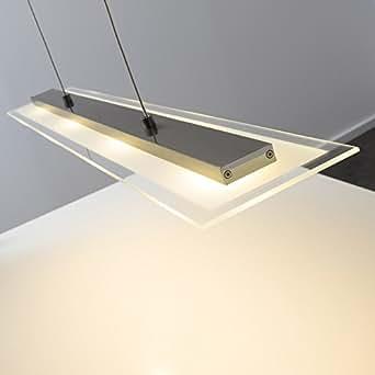 Suspension 4 led design luminaires et eclairage - Amazon luminaire suspension ...