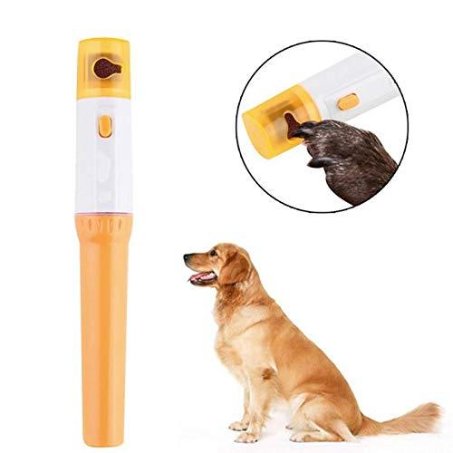 WKKZNB Elektrische Painless Pet Nagelknipser Pet Hunde Katzen-Tatzen-Nagel-Trimmer Cut Haustiere Grinding Datei-Kit Fellpflege Protable