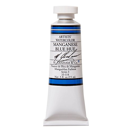 M. Graham 1/2-Ounce Tube Watercolor Paint, Manganese Blue Hue  available at amazon for Rs.1879
