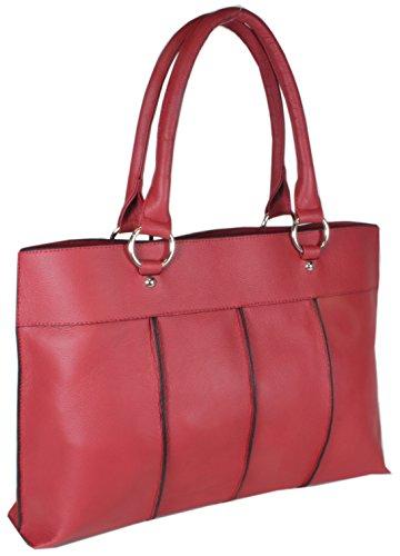 Taschentrend, Borsa a spalla donna Rosso (rosso)