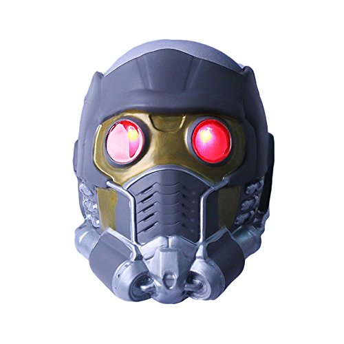 nihiug Galaxie StarCraft Helme Guardians OftheGalaxy Masken Cos Halloween Guard ()