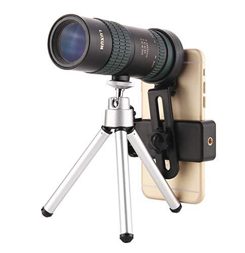 Telescopio Monocular 24x30, Telescopio De Zoom SGODDE 8X-24X con óptica De Enfoque Doble,...