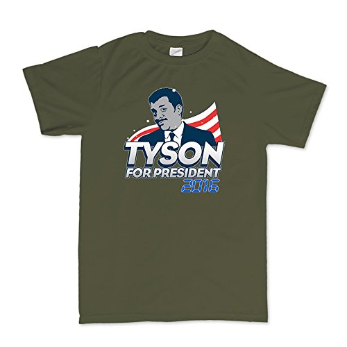 Neil Tyson For President 2016 Science Geek Nerd (Mike Tyson Kostüme)