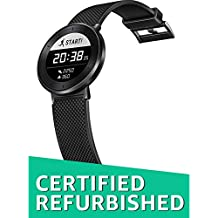 (Certified REFURBISHED) Huawei Fit Large Activity Tracker (Titanium Grey Case, Black Sport Band)