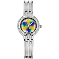 Rainbow e-motion of color Women's Quartz Watch DA27-NO-tr with Metal Strap