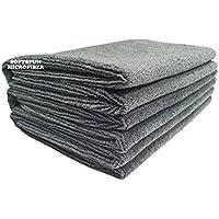 Softspun Microfiber Hair & Face Care Towel - 40X60 cms - 3 Pcs (Grey)