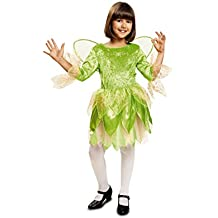 My Other Me - Disfraz de Hada, talla 3-4 años, color verde (Viving Costumes MOM00734)