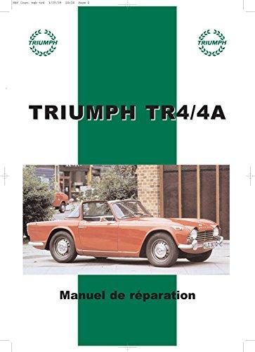 Triumph TR4 & TR4A Manuel de réparation par Sans