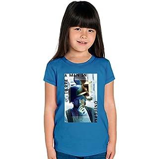 I Love A Man In Uniform Mickey Girls T-shirt 12+ yrs