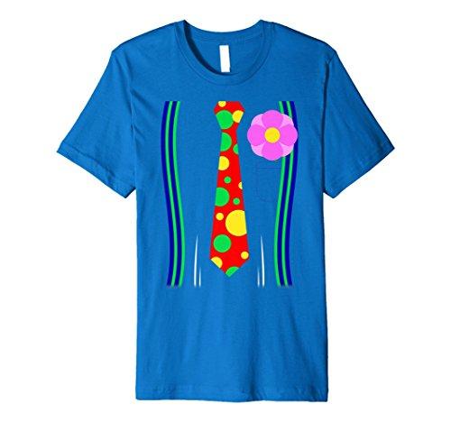 Clown Kostüm Shirt einseitig -