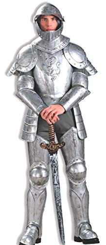 Kostüm Knight Shining - Adult Knight in Shining Armour Costume Fancy Dress