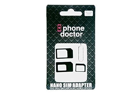 2x Nano SIM + 1x Micro SIM Adapter SET für