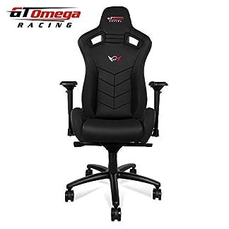 GT Omega deporte asiento de silla de oficina de piel deportiva, para Gaming
