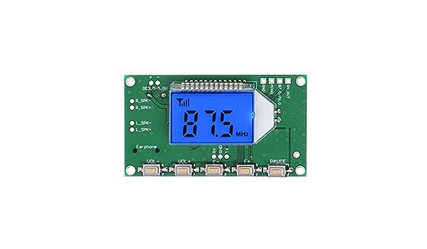 Qiulip Pll Lcd Digital Fm Radio Receiver Modul 87 108 Elektronik