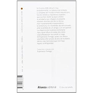 Sobre La Vejez / Sobre La Amistad (El Libro De Bolsillo - Clásicos De Grecia Y Roma)