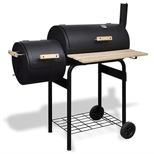 Galleria fotografica vidaXL Barbecue classico affumicatore a carbonella