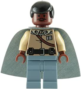 lego star wars lando calrissian general kleidung minifiguren spielzeug. Black Bedroom Furniture Sets. Home Design Ideas