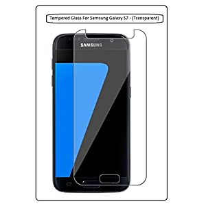 Annant Full Screen 0.3mm Pro+ Edge To Edge Coverage 2.5D Curved 3D Tempered Glass With Packaging Kit For Samsung Galaxy S7 - (Transparent)