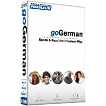 Pimsleur Gogerman Course - Level 1 Lessons 1-8 CD: Lessons Level 1: Learn to Speak, Read, and Understand German with Pimsleur Language Programs (Go Pimsleur)