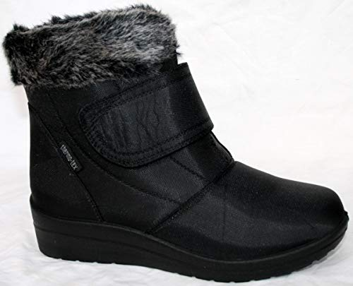 Cushion Walk Thermo-Tex - Botas de invierno para mujer, color marrón, color negro, talla 40