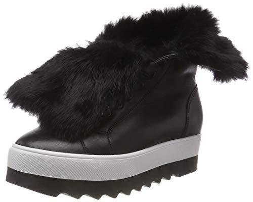 Högl Damen Cosy Biker Boots, schwarz (schwarz 0100), 38 EU