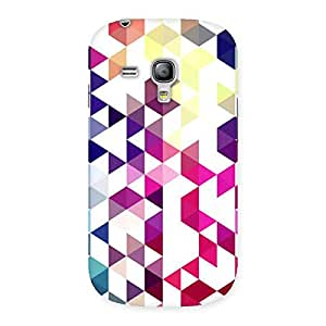 Neo World Geometric Colors Back Case Cover for Galaxy S3 Mini