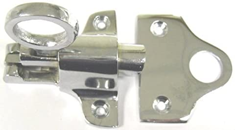 FANLIGHT CATCH ATTIC WINDOW LATCH CHROME CP