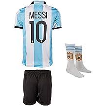8c2b97685f SVB Argentina Mundial 18 y Copa America 16   10 Messi – Niños Pantalones y  Camiseta