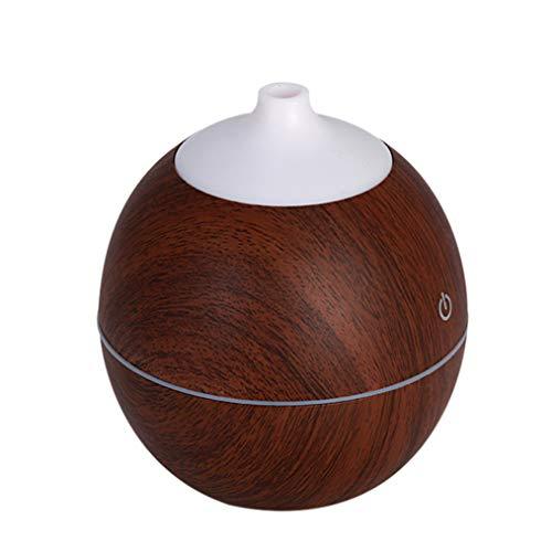 Humidificador Zariavo,humidificador ultrasónico de Aroma con difusor de aceites Esenciales LED de Aire