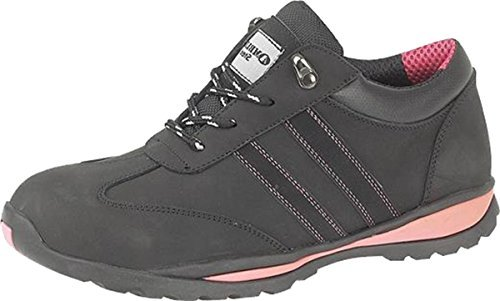 Amblers Steel FS47 S1-P Trainer / Womens Shoes / Safety Shoes (6 UK) (Black)