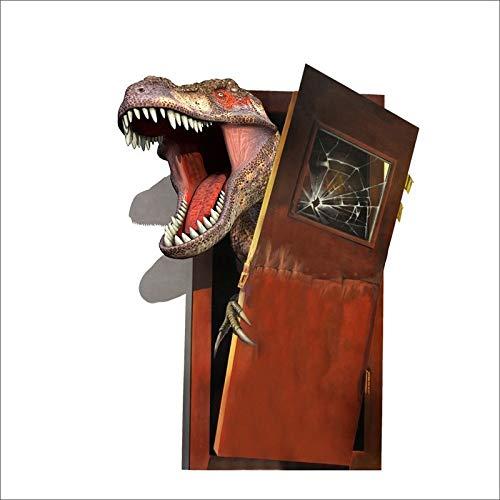 EpicGifts Dinosaurier T Rex Breaking durch die Tür Aufkleber Aufkleber Kids Schlafzimmer I