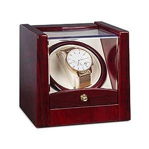 Klarstein Monte Carlo oder Cannes • Uhrenbeweger • Uhrendreher • Uhrenbox • für 1 oder 2 x Automatikuhr • Links-Rechts-Lauf • laufleise • schwarz oder rosengold