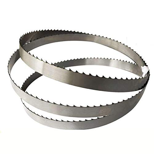 Homely 1650mm Band Saw Blades Cutting Wood 1650 * 16 * 0.5 * 4teeth Wood Saw Blades Durable Can Only Cut Meat : 1pcs