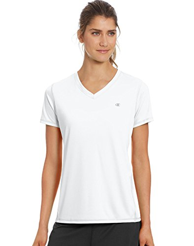Champion Double Dry T-shirt (Champion Damen Double Dry Select Tee T-Shirt, weiß, XX-Large)