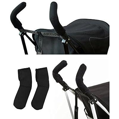 NUOLUX silla de paseo mango cubre mango Bar Grips-estirable Universal Fit