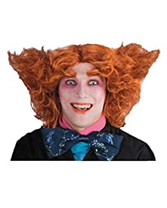 Mad Hatter perruque rouge