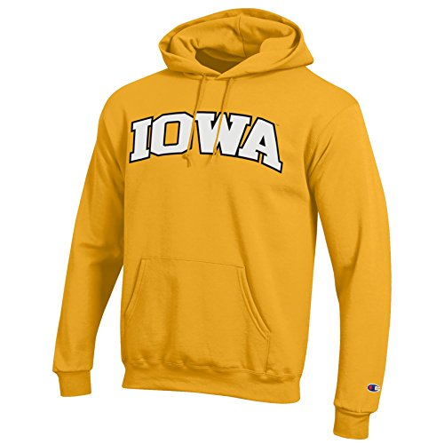NCAA Herren-Kapuzenpullover, Eco Power Blend, Herren, Gold Champion Sweatshirt Stretch