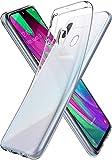 Spigen 618CS26245 Liquid Crystal Kompatibel mit Samsung Galaxy A40 Hülle Transparent TPU Silikon Handyhülle Durchsichtige Schutzhülle Case Crystal Clear