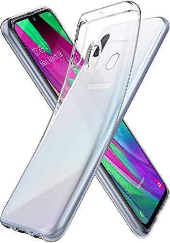 Spigen Cover Galaxy A40 Liquid Crystal per Samsung Galaxy A40 Cover con Tecnologia Air Cushion e Protezione per Custodia per Custodia Galaxy A40 - Crystal Clear