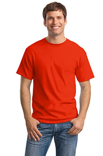 Hanes Big Mens ComfortSoft® T-Shirt Orange