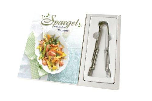 Preisvergleich Produktbild Spargel Boxset: Kochbuch mit Spargelschäler