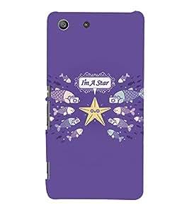 EPICCASE Sea world celebrity Mobile Back Case Cover For Sony Xperia M5 (Designer Case)