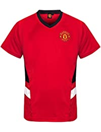 8f71fc0a2 Manchester United FC Official Football Gift Mens Poly Training Kit T-Shirt