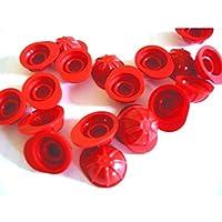 LEGO 3833City-Worker Helmet Figure (Pack of 20), Red