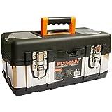 Maletín para instrumentos de plástico y metal, maletín para guardar los instrumentos, caja para guardar los instrumentos, maleta para los instrumentos, cajón para los instrumenots, se vende sin instrumentos