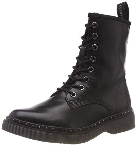 Tamaris Damen 26298-31 Combat Boots, Schwarz (Black Matt 20), 38 EU