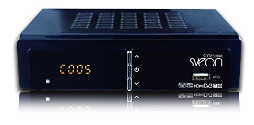 Sveon SDT8300M - Sintonizador TDT HD (), color negro