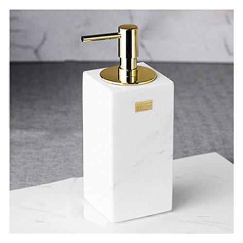 SWH Europäische Marmor Hand Seifenflasche Kreative Haushalts Seifenspender Hotel Bad Küche Bad Dusche Taupunkt Pumpe Tisch 180 ML - 180 Ml Dusche