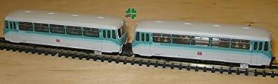 Brawa N 1540 LVT 772 Schienenbus-Set: Motorwagen 772 117-8, Steuerwagen 972717-3 DB von Brawa N 1540 LVT 772 Schienenbus-Set: Motorwagen 772 117-8, Steuerwagen 972717-3 DB